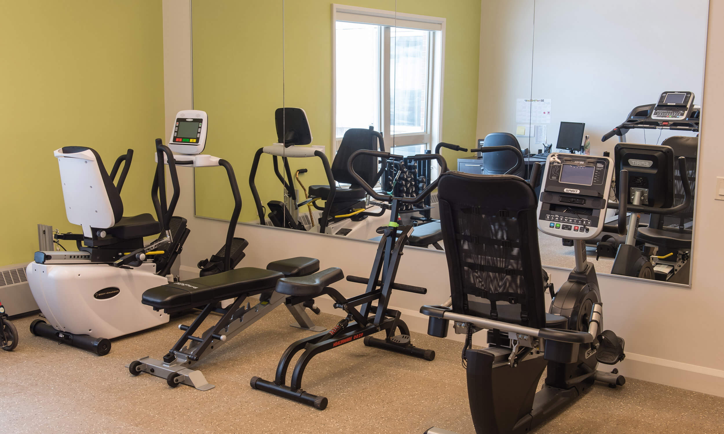 Fitness centre at Parkland Antigonish