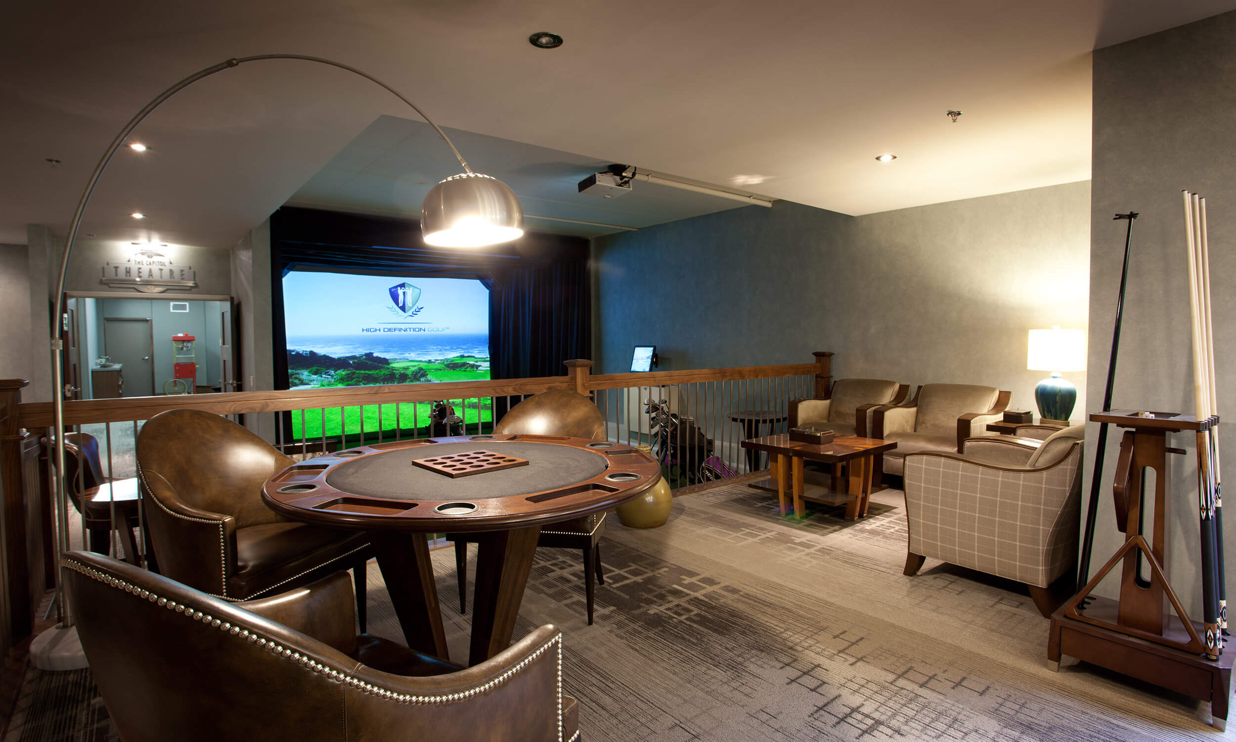 Games room at Parkland at the Gardens